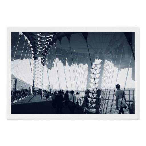 Humber River arch bridge, Toronto, Sunnyside Print