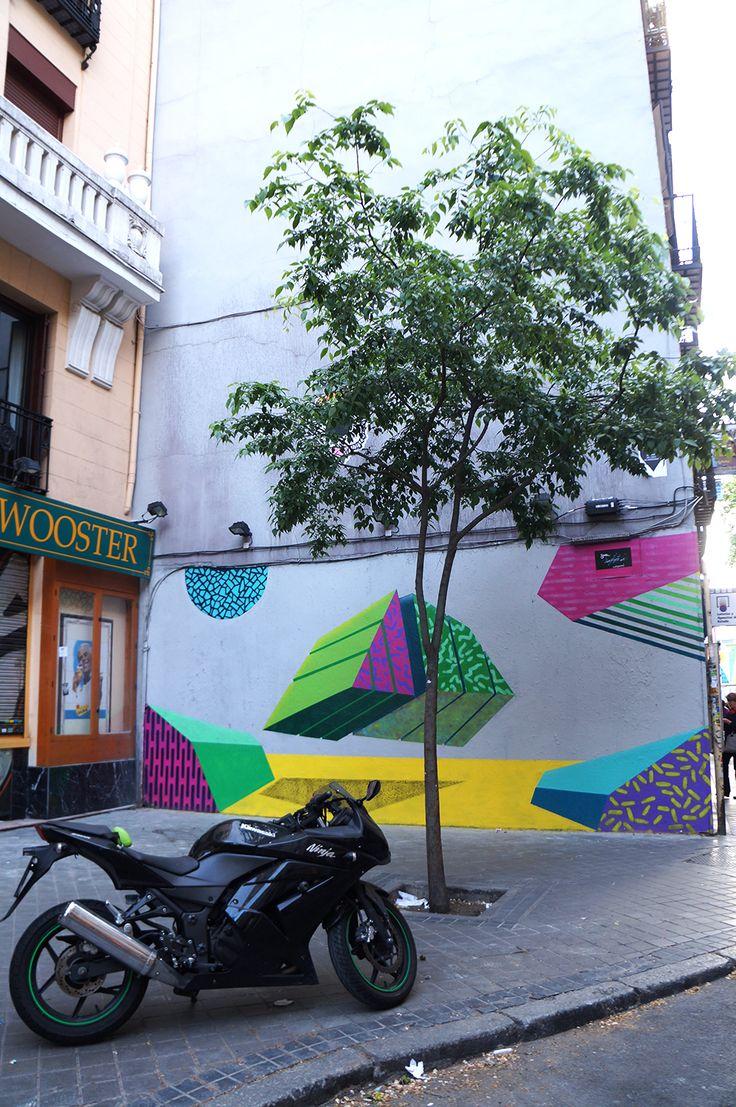 "Antonyo Marest ""Mind the Wall Project"" #7 Swinton & Grant / San Millán #Latina #ArteUrbano #StreetArt #Arterecord Abril 2015 https://twitter.com/arterecord"