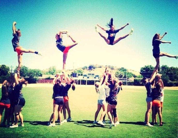4 cool cheer stunts