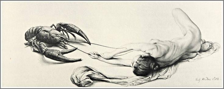 Richard Müller (1874-1954), Agonie - 1902