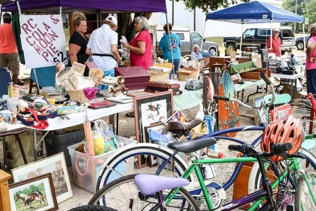 The 2018 Big Grab yard sale kicks off on Friday, September 7 and lasts two treasure-filled days.