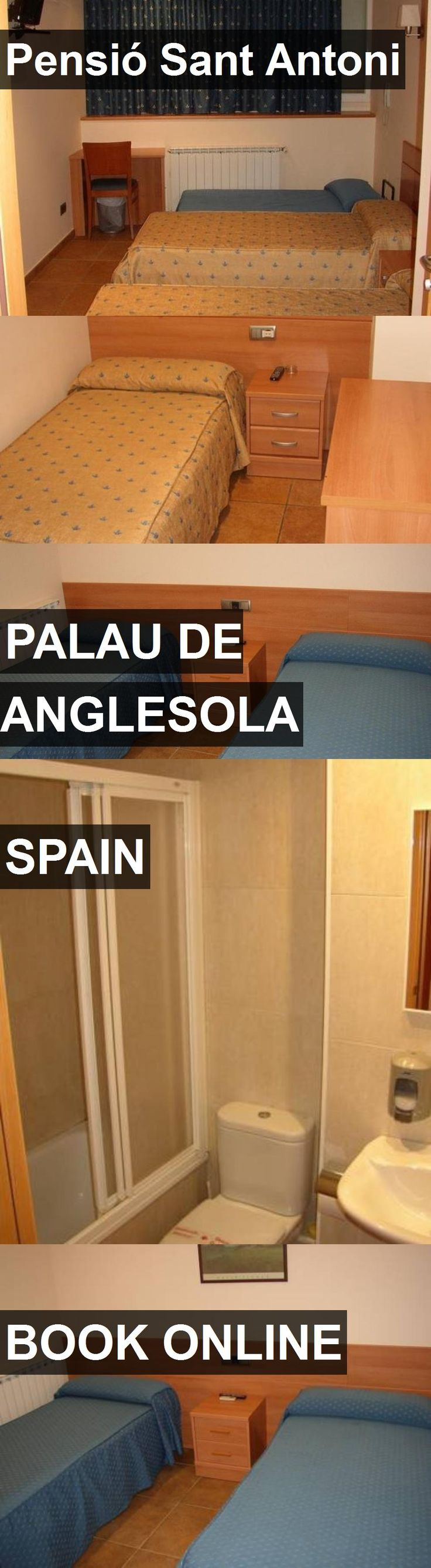 Hotel Pensió Sant Antoni in Palau de Anglesola, Spain. For more information, photos, reviews and best prices please follow the link. #Spain #PalaudeAnglesola #travel #vacation #hotel
