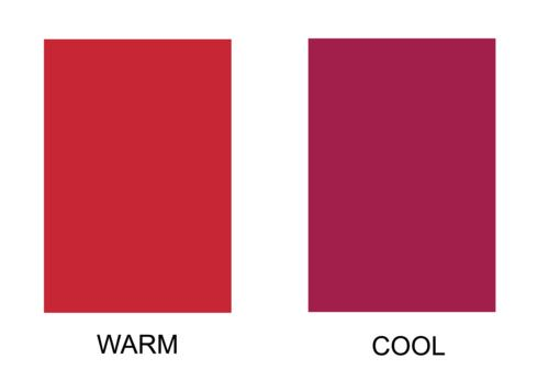 Back to Basics: Color Temperature | HER Style ~ repinned from a board with lots more examples like this at http://www.pinterest.com/zivaglo/color-analysis/