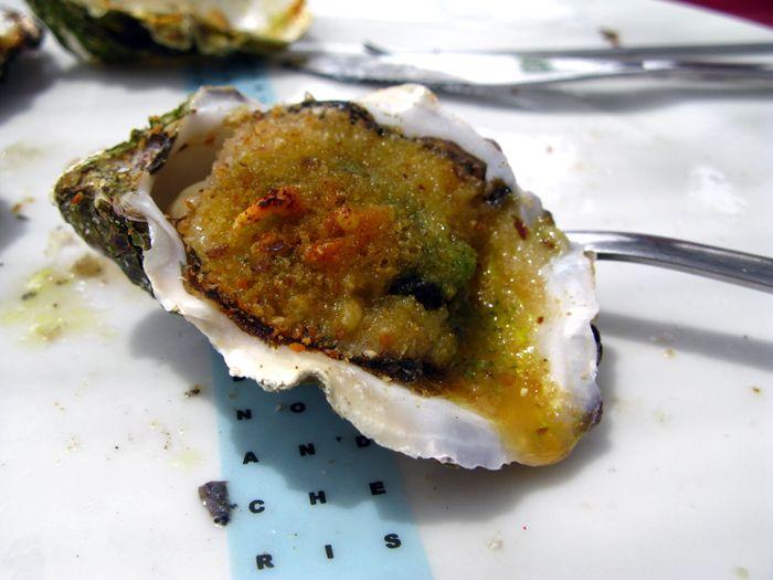Oyster Gratinée