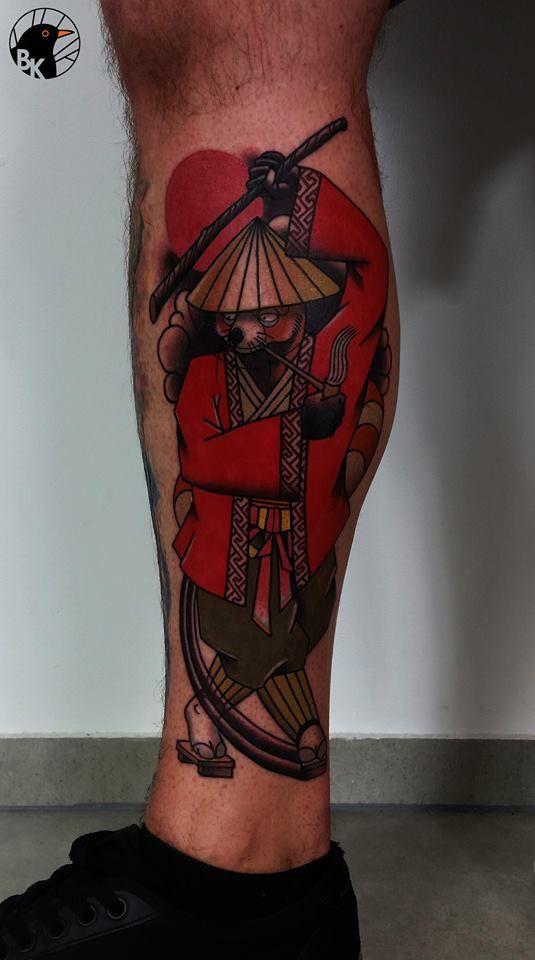 Kung Fu Panda Shaolin Style by Bartek Kos Tattoo