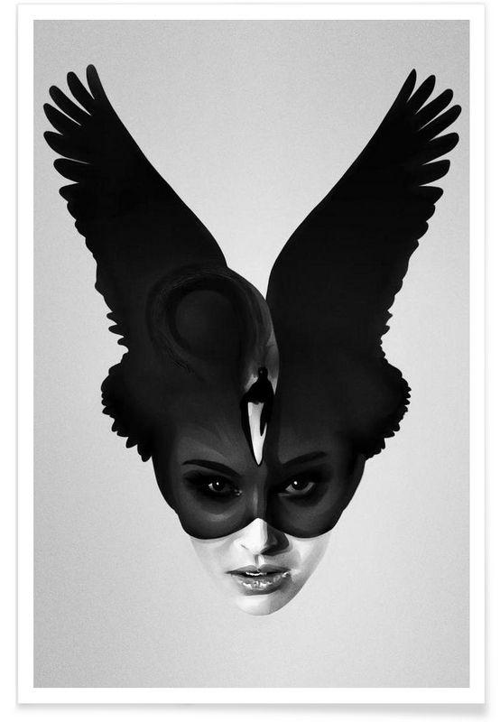 It's my time als Premium Poster von Ruben Ireland | JUNIQE