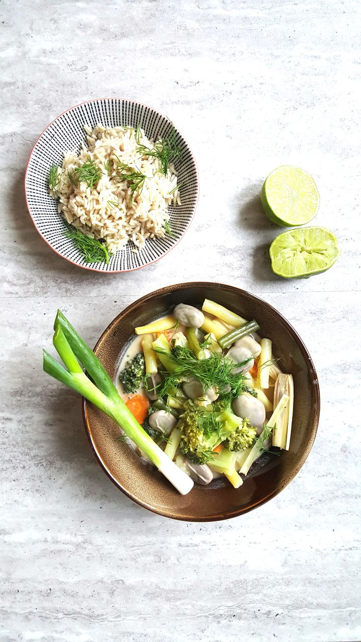 Thai curry with Polish accent