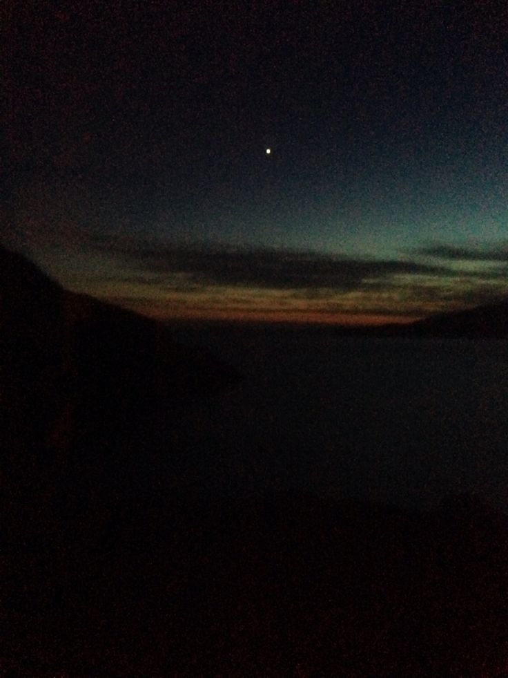 Beautiful night. Hoping to see the aurora but never happened. Maybe next time.....