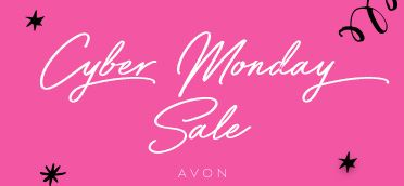 Cyber Monday is the day for online sales! Shop my eStore to get Free Shipping on any order + 20% off any $45 purchase + an Essential Makeup Set + Pouch with any $60 purchase. Use CODE: GOTIME #AvonRep
