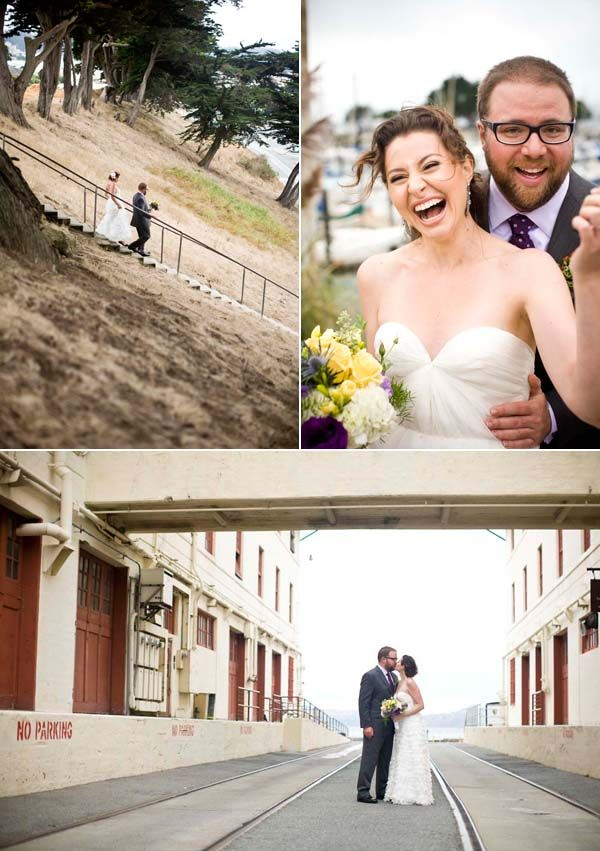 beautiful wedding places in northern california%0A Margo  u     Mike   Purple Wedding at Fort Mason Center   Snippet  u     Ink Snippet  u