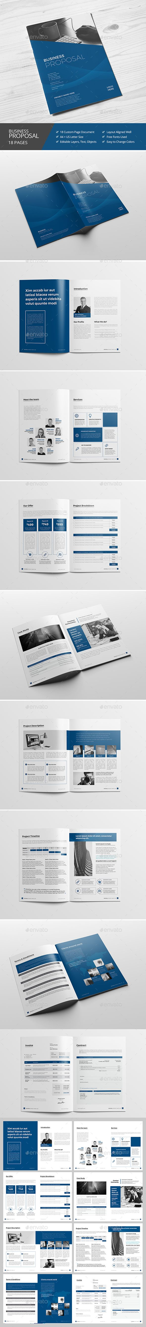 Haweya Business Proposal  -  InDesign Template • Only available here! →…