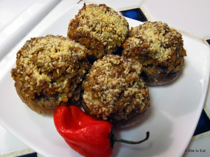Spicy Sausage Stuffed Mushrooms, easy and delicious