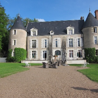Chateau de Pray, near Amboise France in the Loire Valley. Built in the 13th century.