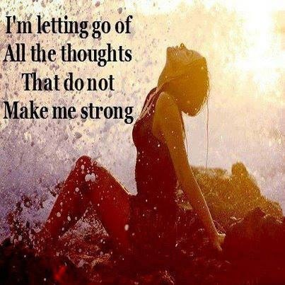 I am letting go !