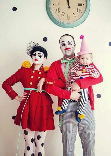 :-) Clown family