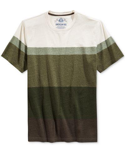 American Rag Men's Broad Stripe T-Shirt, Only at Macy's - T-Shirts - Men - Macy's