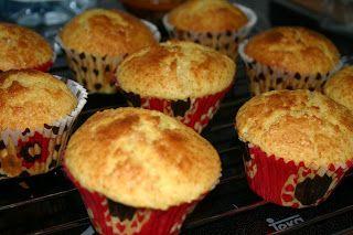 Sueño con ser cocinera: Magdalenas de naranja y almendra