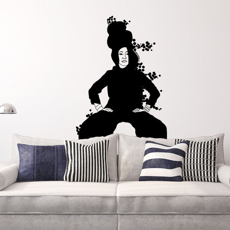 Strike a Pose - Chloe. Super fun collaboration with Kismet Decals. A selection of my illustrations are now available as wall stickers. Grab yours at: www.kismetdecals.com #homeinspo #wallstickers #wallart #livingroom #homeinspo #power #powerpose #powerposes #art #inspirational #blackandwhite
