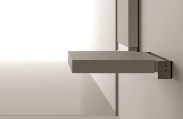 Folding shower seat Moma Design by Archiplast _