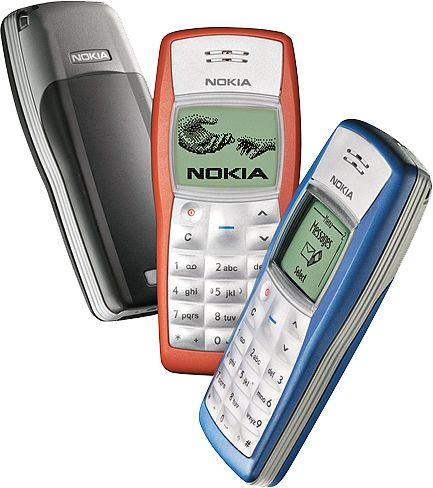 Nokia 1100 - The damn thing still works after so many years.