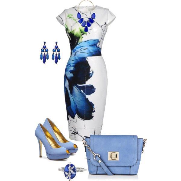"""""""Spring Dress"""" by vballfan-1 on Polyvore"""