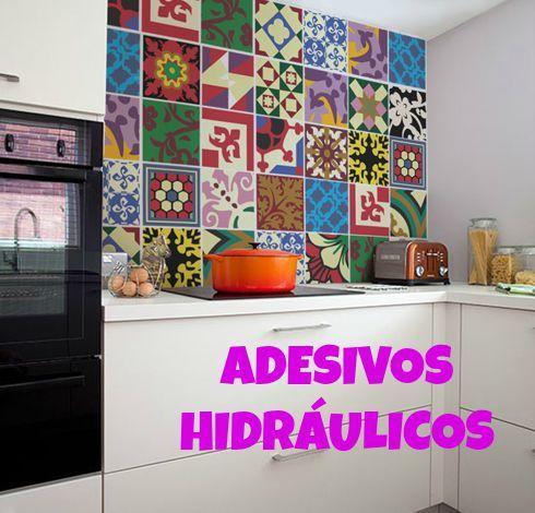 Ruiva de Fábrica: Decoração na Cozinha: Adesivos Hidráulico