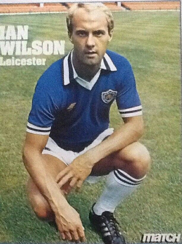 Ian Wilson of Leicester City in 1982.