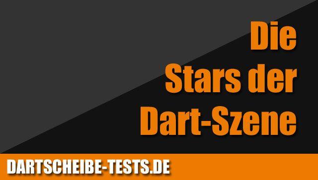 Die Stars der deutschen und internationalen Dart-Szene