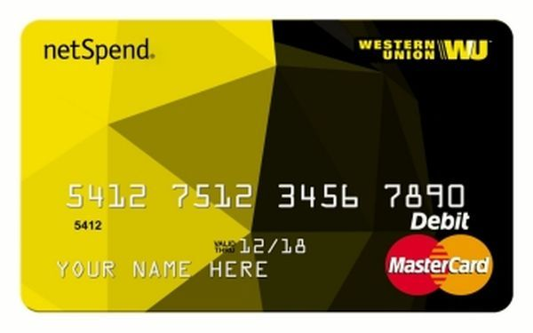 Western Union NetSpend Prepaid MasterCard Login Prepaid