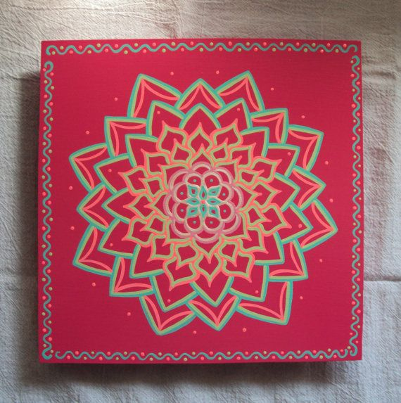 Hey, I found this really awesome Etsy listing at http://www.etsy.com/listing/128439622/mandala-painting-energy-circle-pink-blue