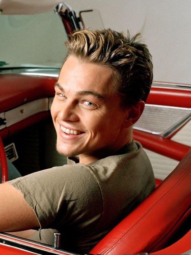 Leonardo DeCaprio... He's so gorgeous.