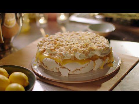 How To Make Nigella Lawson's Lemon Pavlova from 'Simply Nigella' (Video) | Leo Sigh