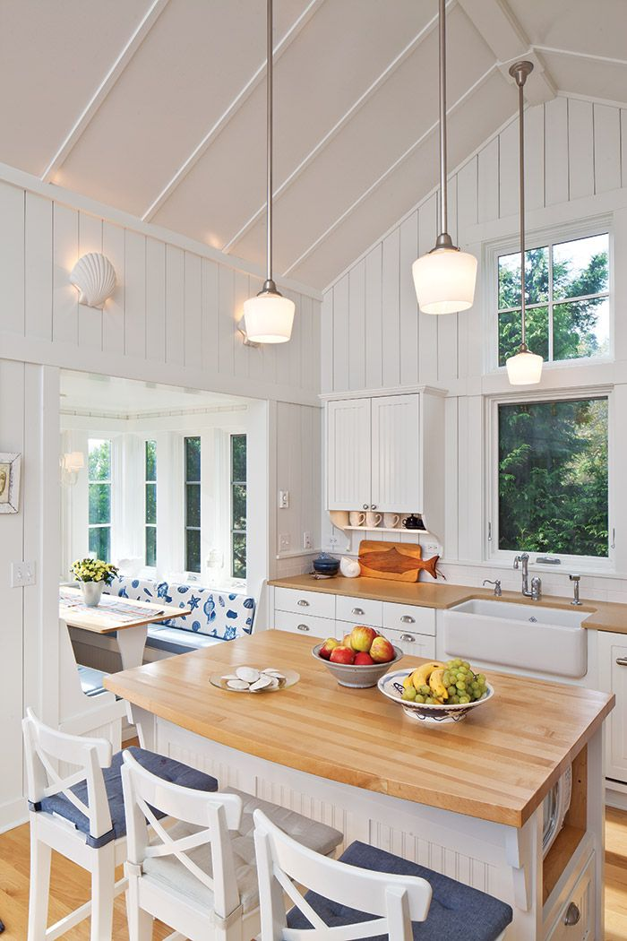 This Guest House Takes A Page From Classic Cottage Beach