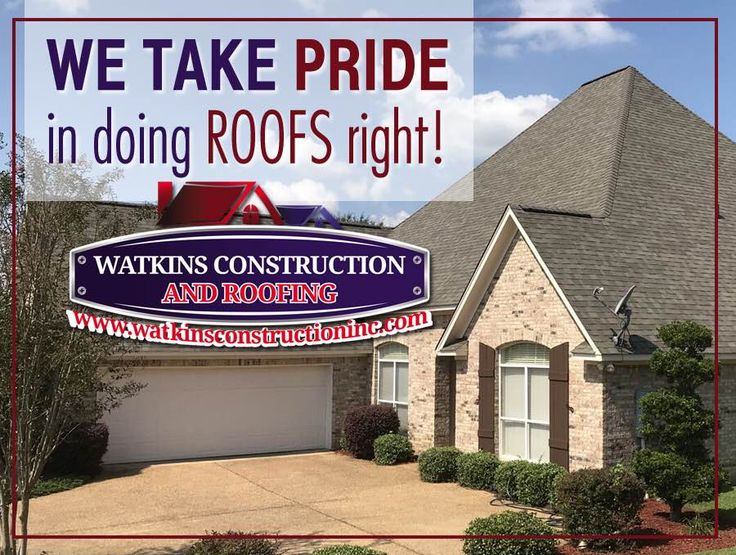 We take so much PRIDE in doing roofs the RIGHT way.  We call it the #WatkinsWay!  Visit our website and fill out the estimate request form listed here:  https://www.watkinsconstructioninc.com/request-roof-estimate/ #watkinsroofing #ocplatinum #roof #roofing #roofer #jacksonms #teamwork #pride #trust #watkinsway