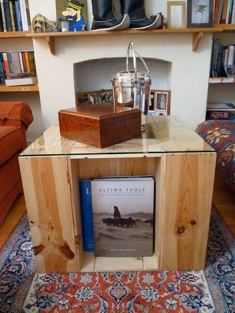 wine crate furniture. easy diy coffee table from wine crates crate furniture