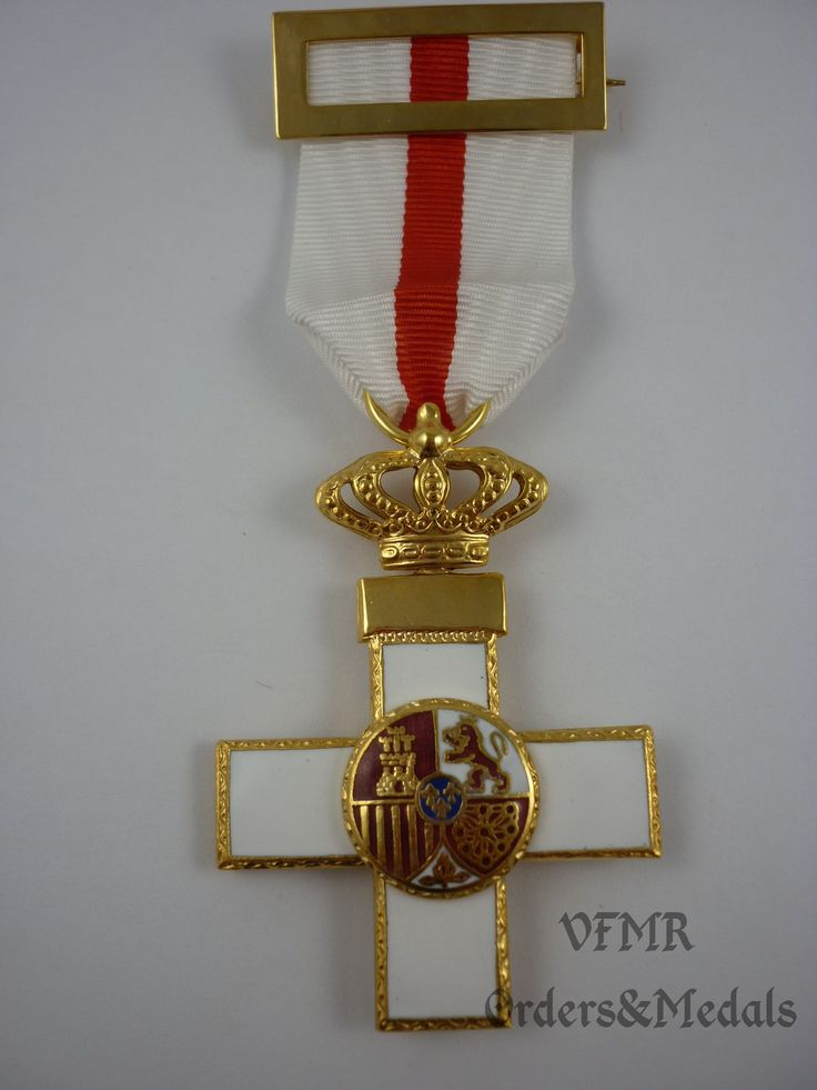 Spain - Order of Military Merit, Cross white (special services) M2003