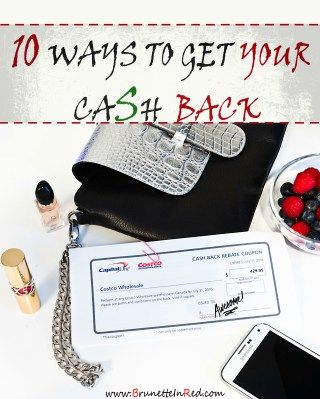 ways to get cashback by Brunette In Red