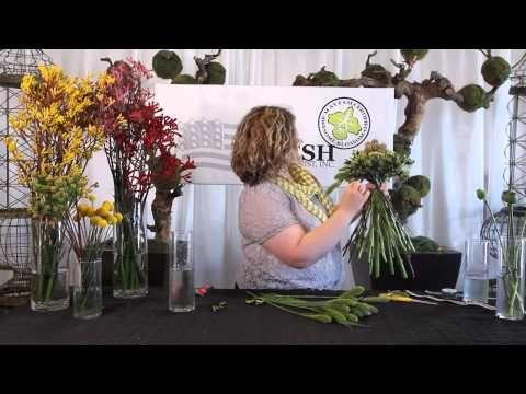 The Art of Flowers August 2012: Biedermeier Hand-Tied Bouquet