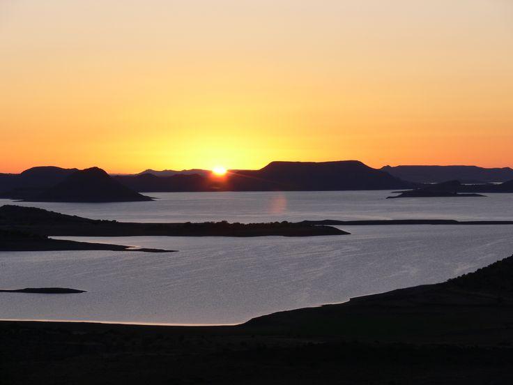 early mornings - Gariep dam