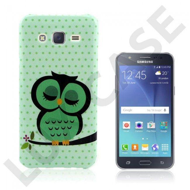Westergaard cover til Samsung Galaxy J5 - Grøn sovende ugle