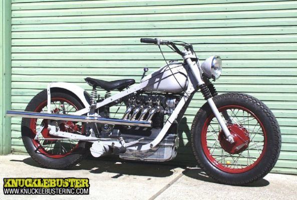 Custom Nimbus Motorcycle