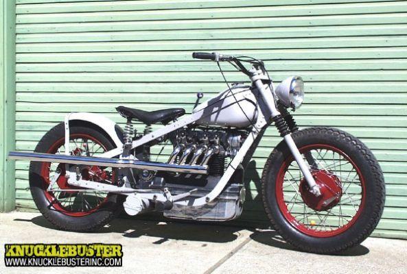 Custom Nimbus Motorcycle