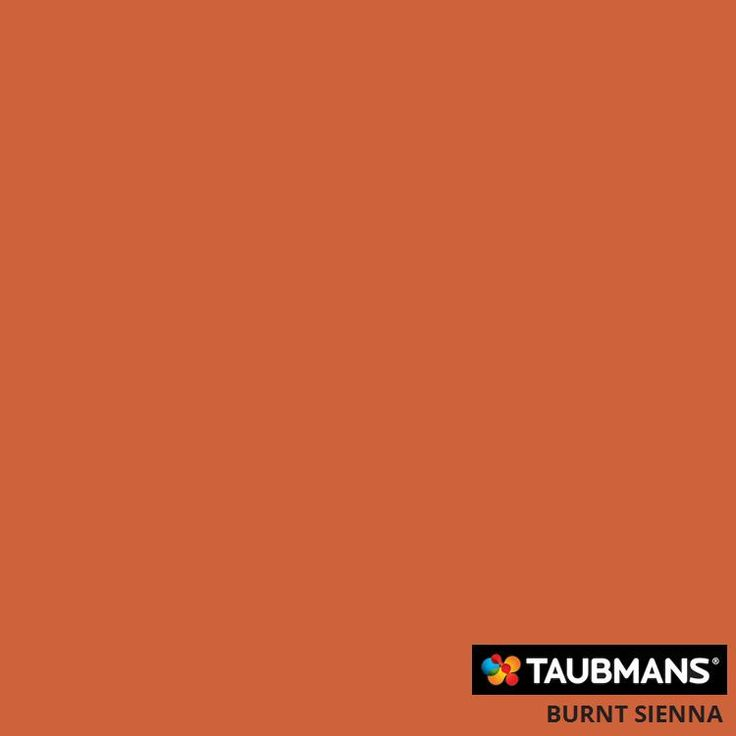 Taubmans colour Burnt Sienna T12 21.H4