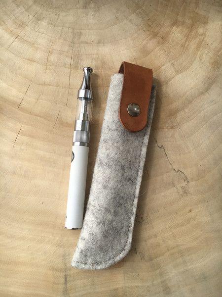 Universaltäschchen - E-Zigaretten Etui·☆·Stift-Etui·☆·Wollfilz - ein Designerstück von Chiquita-Jo bei DaWanda