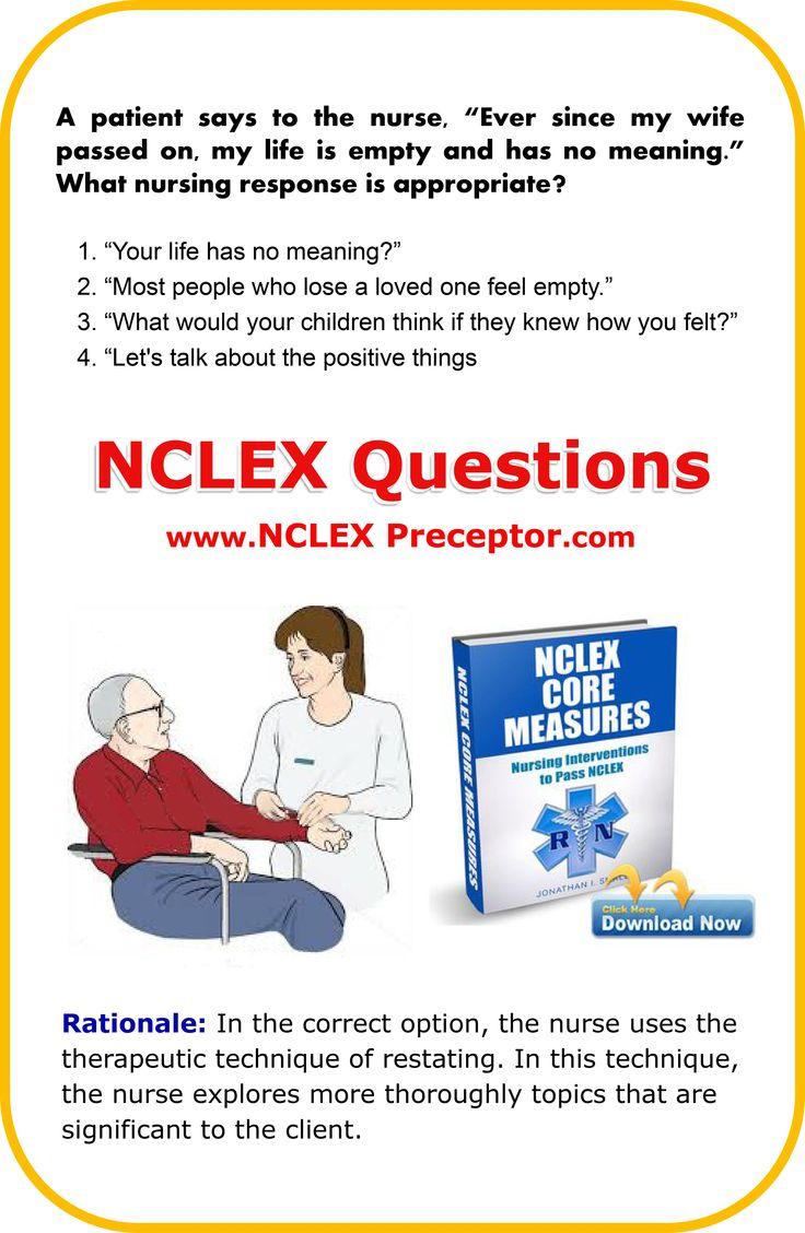 Nursing NCLEX® Exam Practice Questions