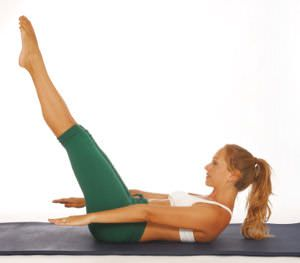 2 Pilates Moves for a Flatter Belly | SparkPeople