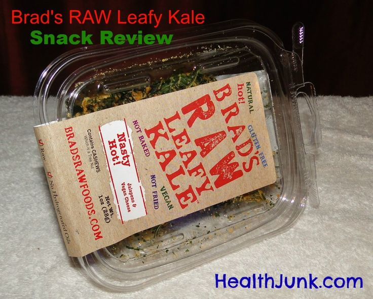 Brad's RAW Leafy Kale Chips – Snack Attack Part 2 – Road Trip Snacking |