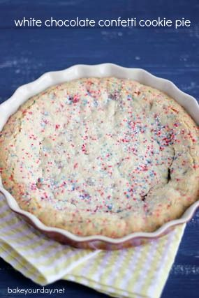 Confetti cake pie!