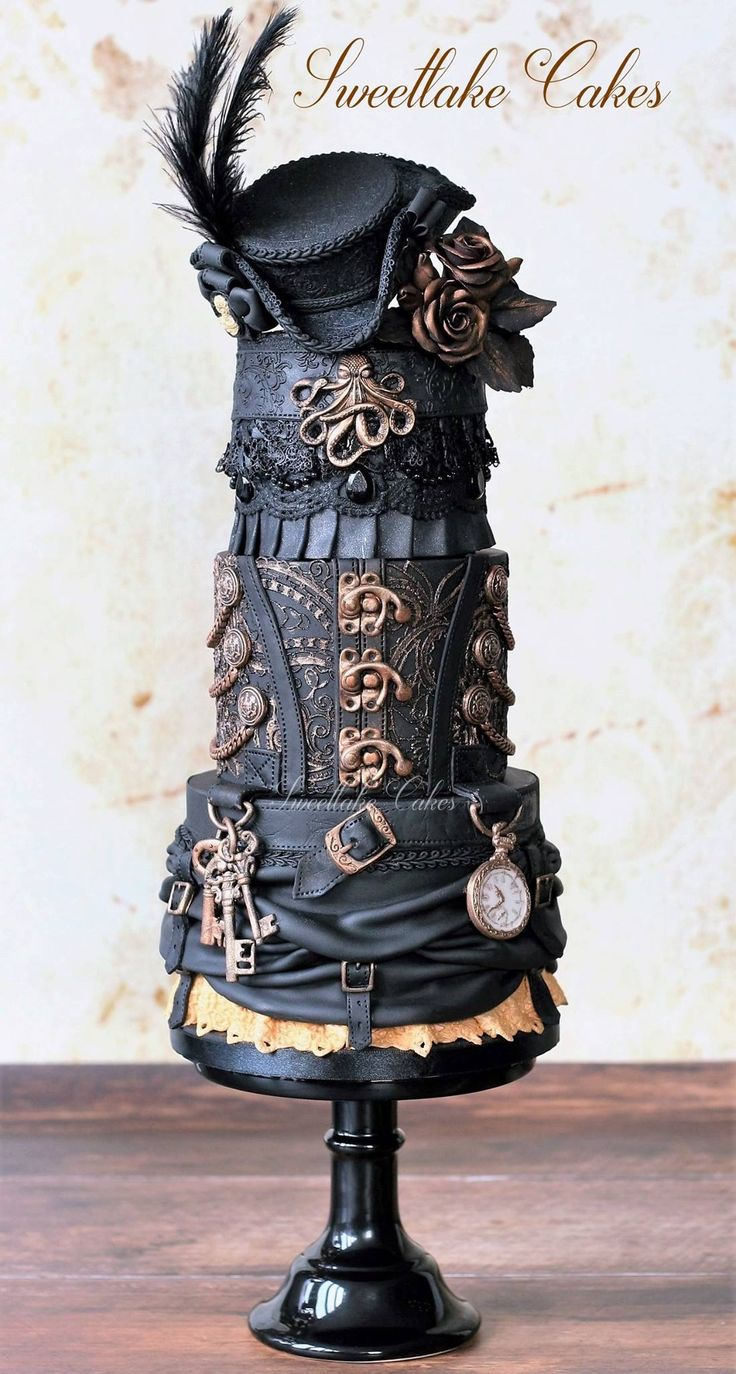17 Best Images About Steampunk Cakes On Pinterest Owl