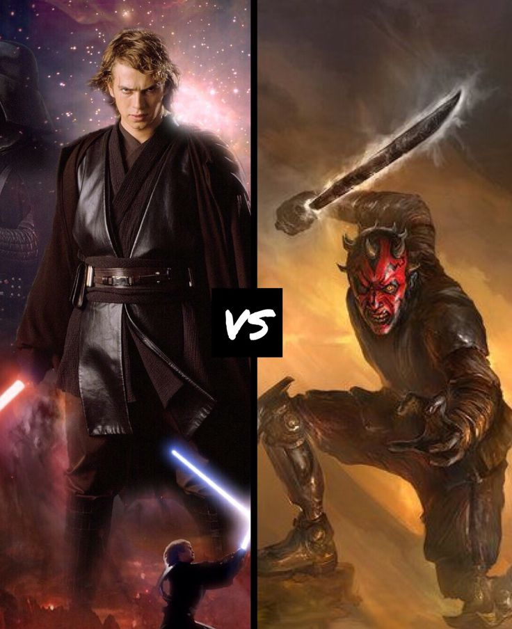 6385 best Geek II imag... Anakin Skywalker Vs Darth Maul